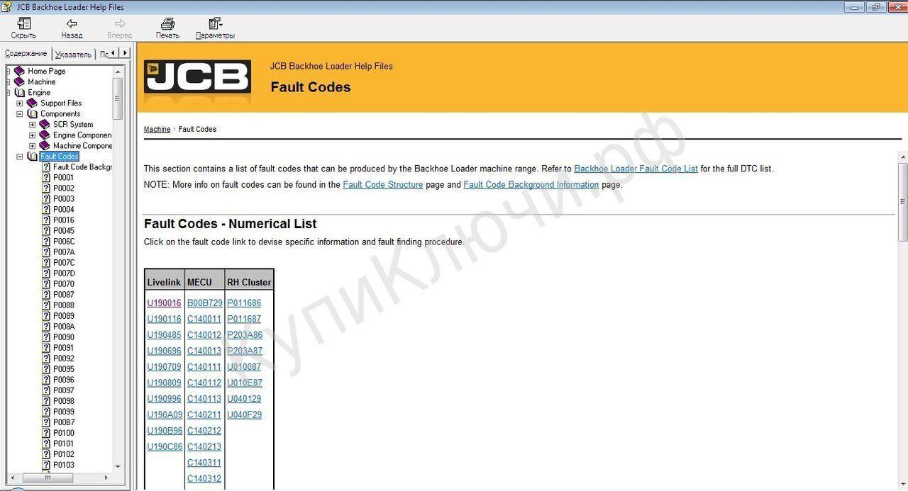 Volvo Loader Fault Codes List