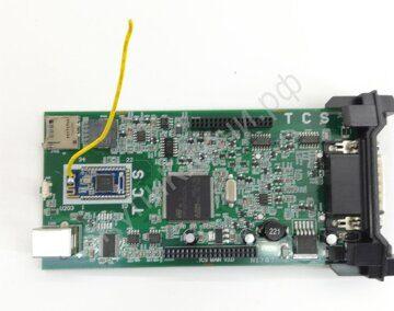 делфи автоком двухплатный диагностический адаптер delphi autocom cdp tcs 150 (9)